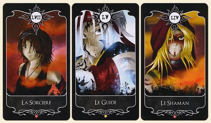 La Sorcière, le Guide et le Shaman - Mes cartes préférées de l'Oracle d'Ishsaar