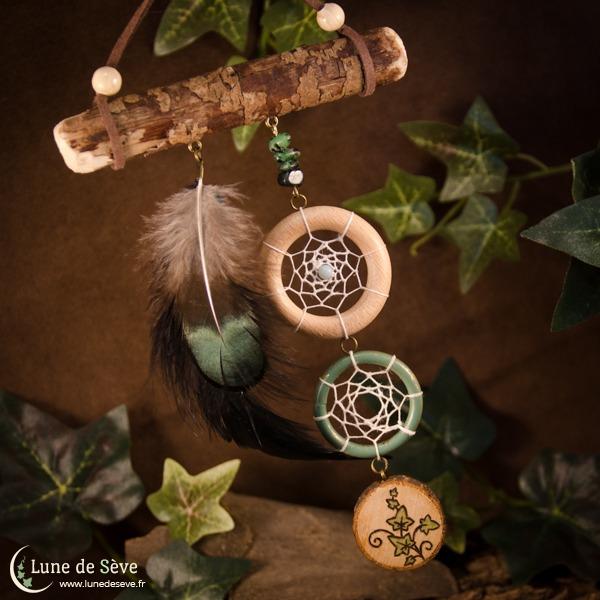 """Dreamcatcher talisman """"Protecteur Éternel"""""""