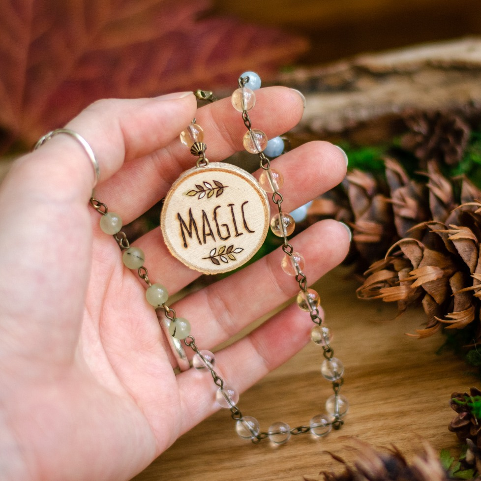 """Magic"" Meditation Beads"