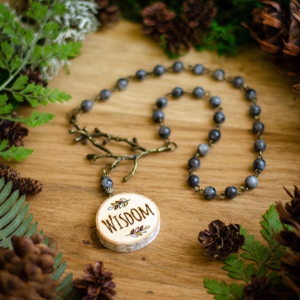 """""""Wisdom"""" Meditation Beads"""