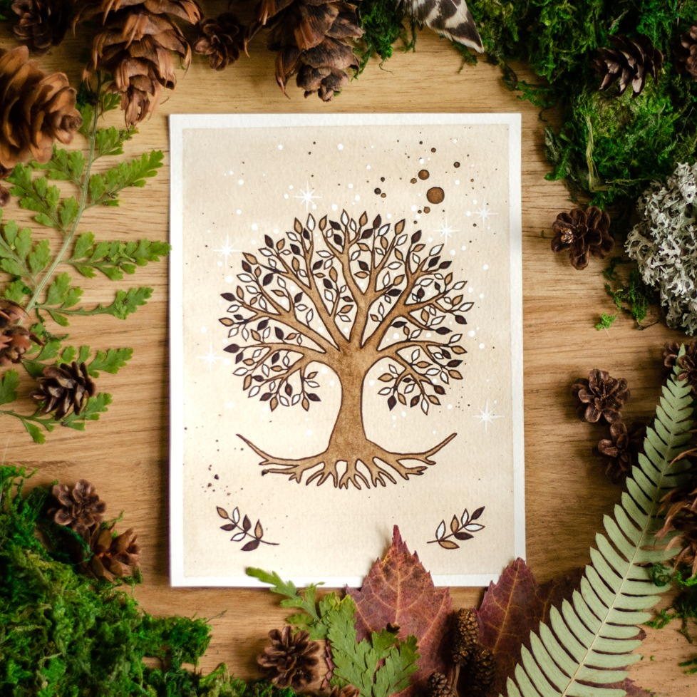 Wildera Lenormand Tree Card