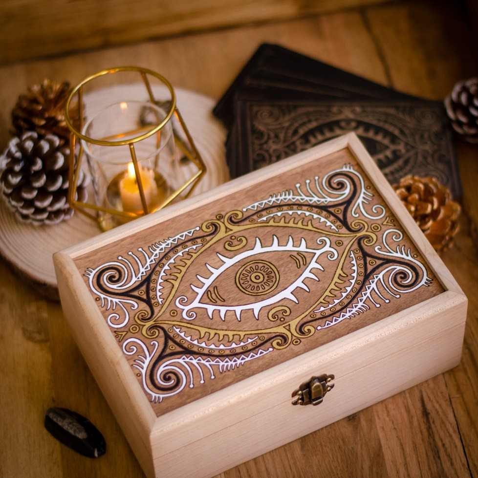 Mildred Payne's Oracles - Custom Wood Box