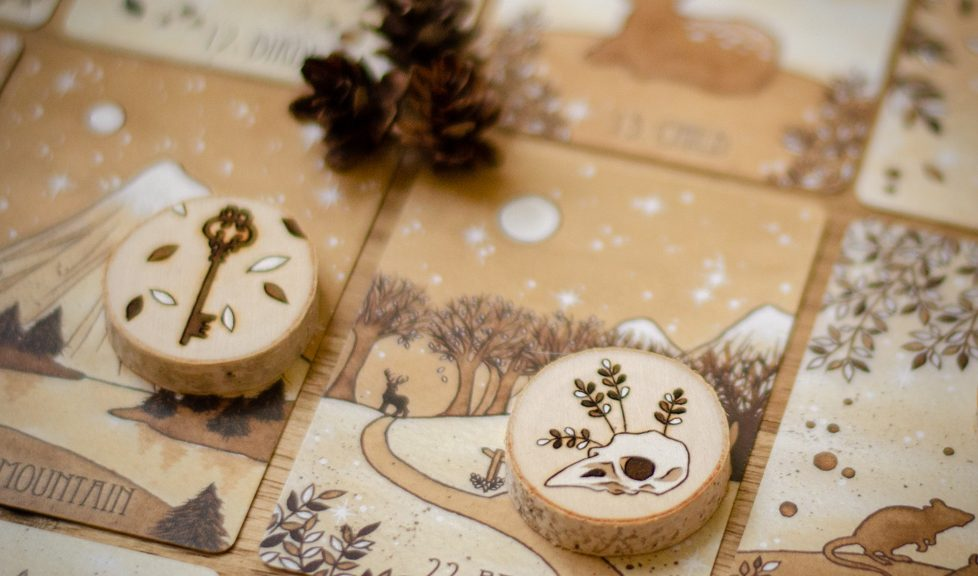 Wooden Wildera Lenormand