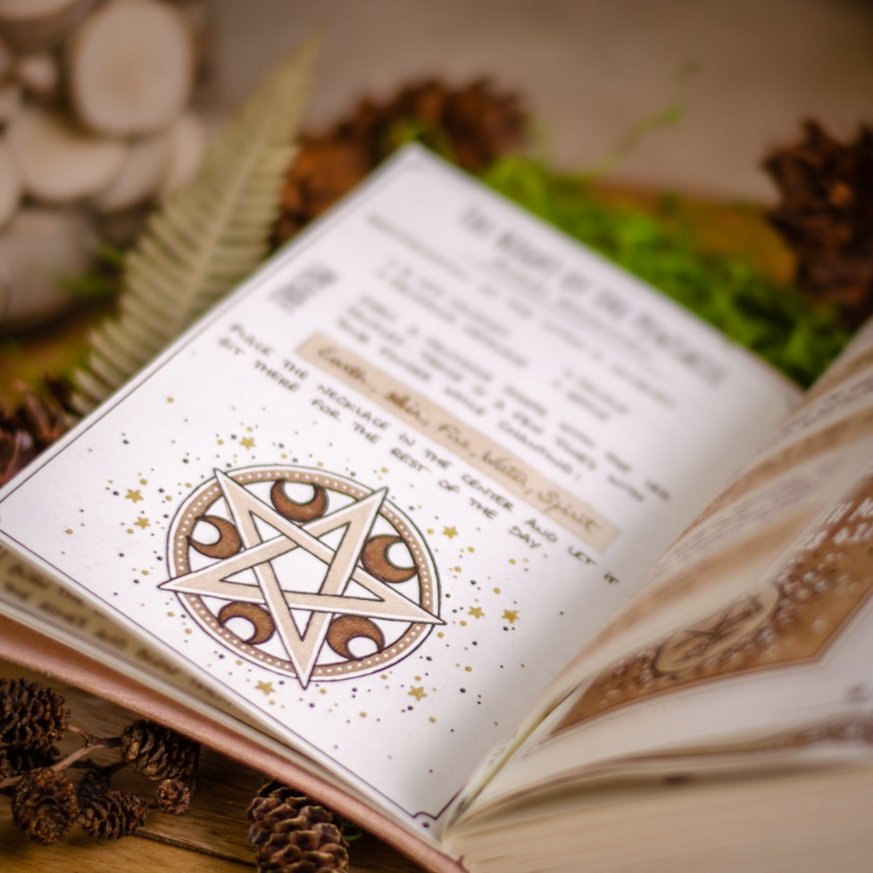 Book of Spells - Pentacle - #31daysofwitchcraft