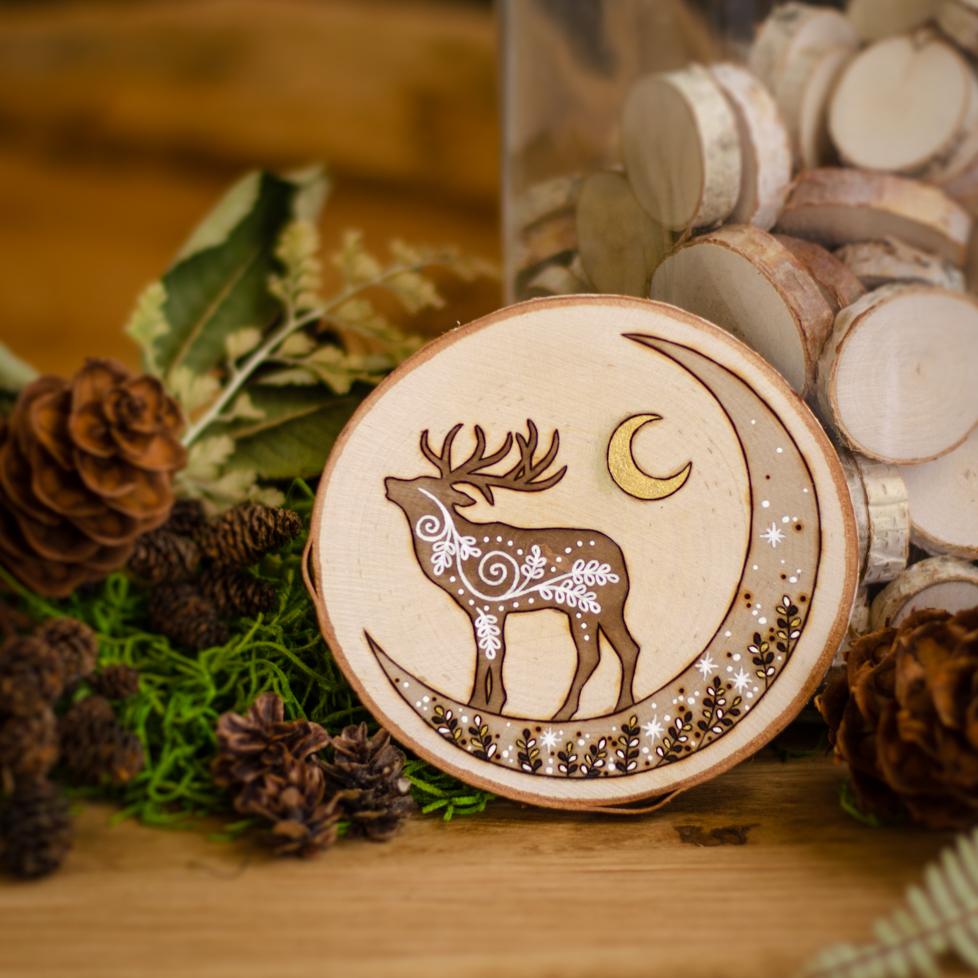 Songs of the Stars - Wood & Antlers