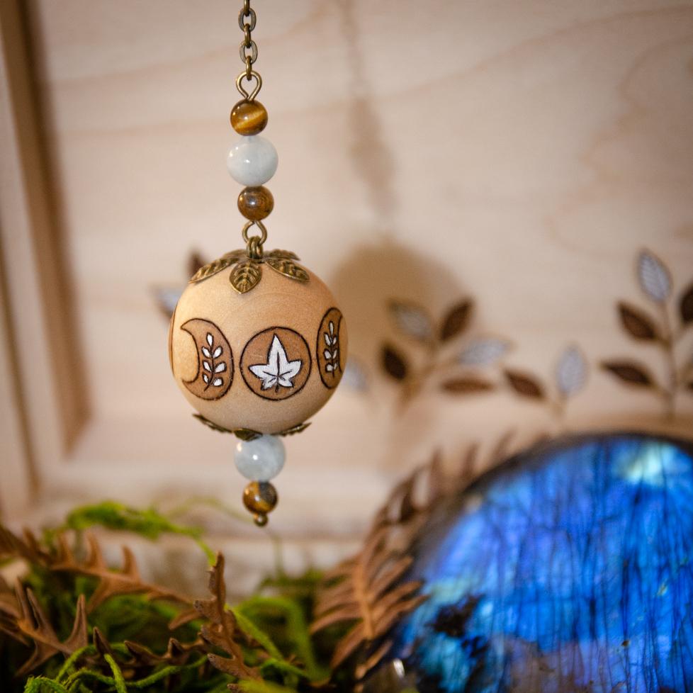 Moon Medicine - Wooden Pendulum