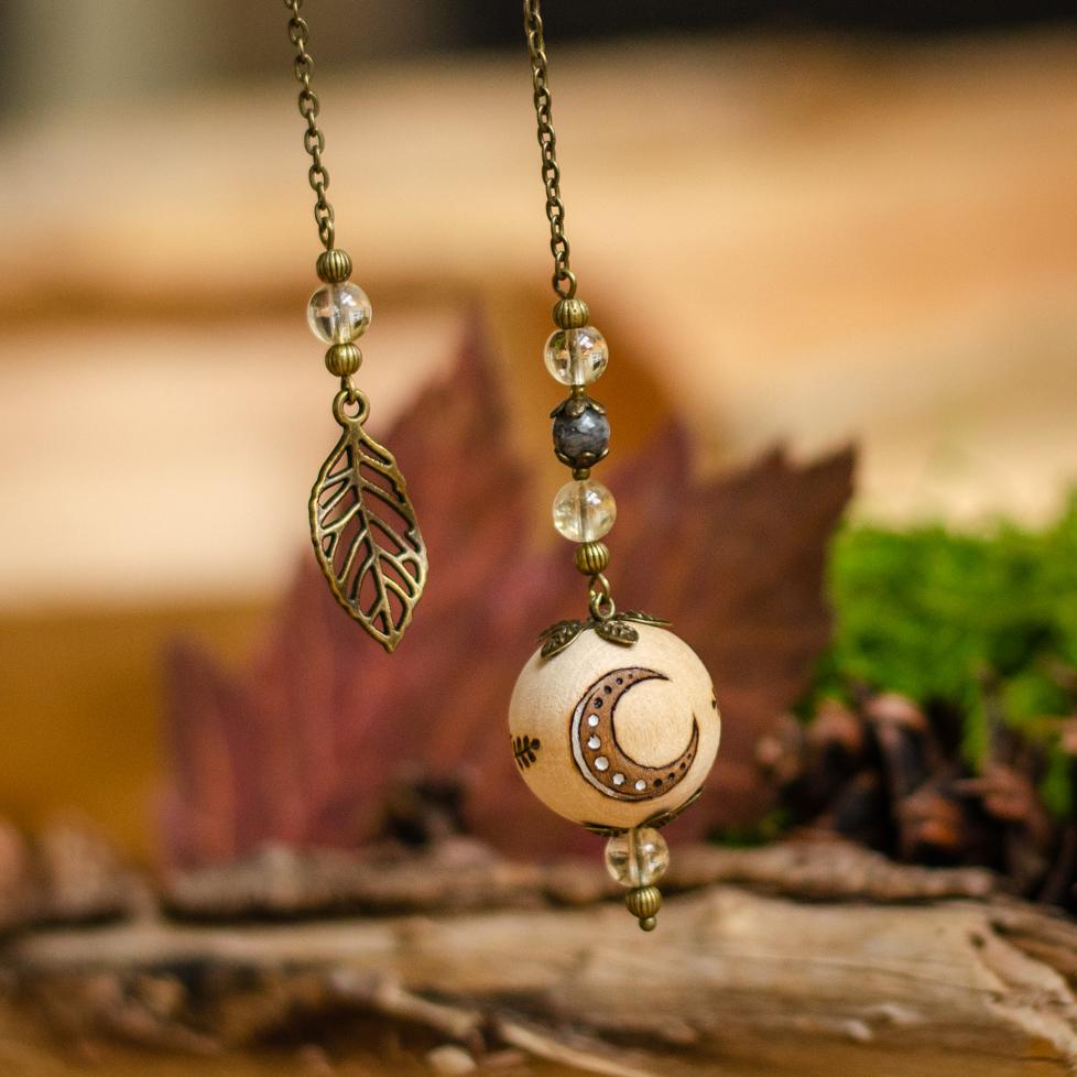 Nocturnal Secret - Wooden Pendulum