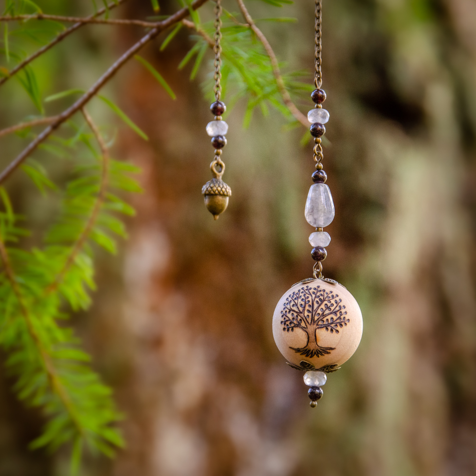 Voices of Trees - Wooden Pendulum