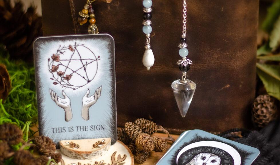 Crystal Ball Oracle Pendulum
