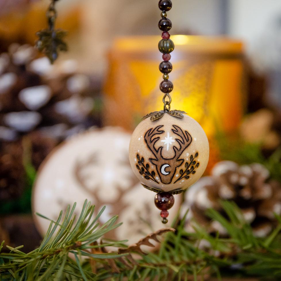 Handcrafted Wooden Pendulum