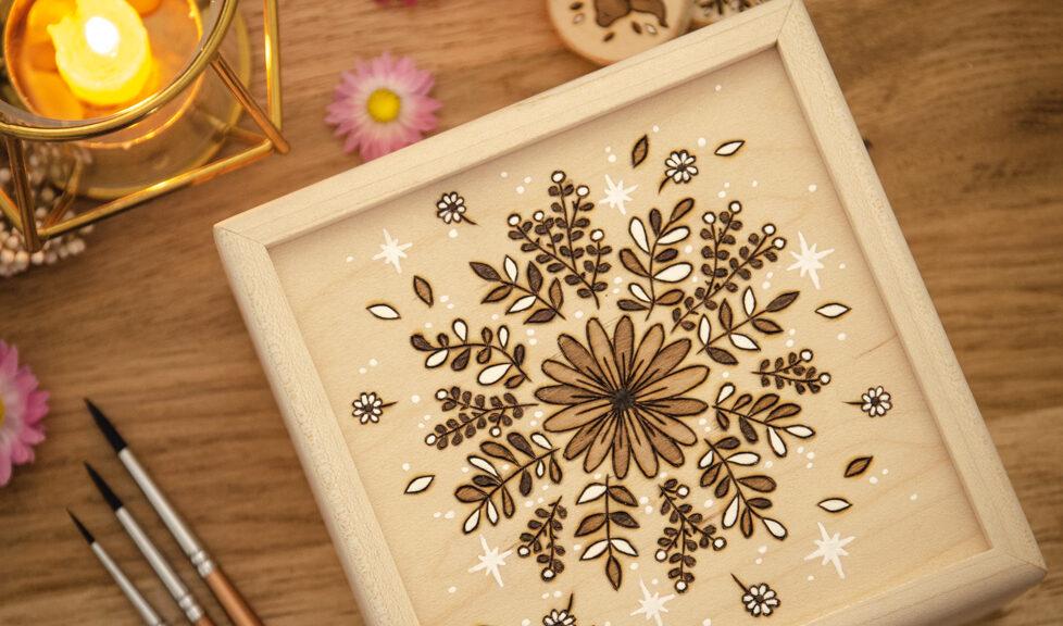 Wildera Lenormand - Bouquet Wooden Box